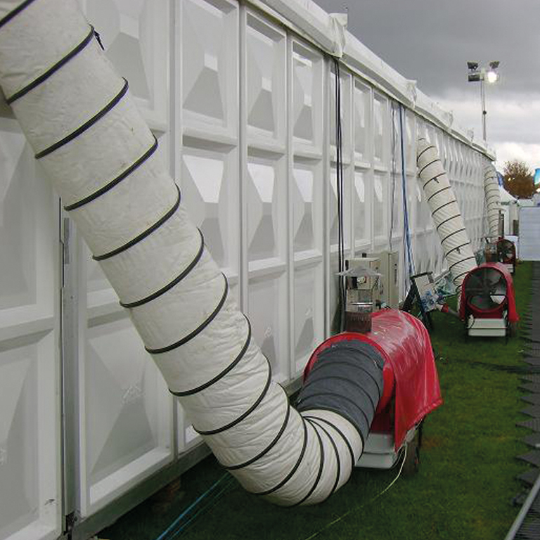 Naylor Events Ducting