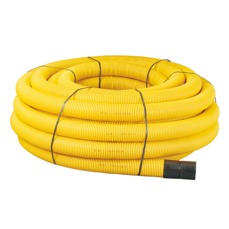 MetroCoil Singlewall Gas Duct Pipe