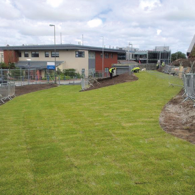 TechTurf – reinforced grass system
