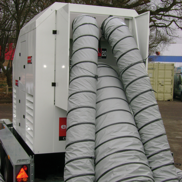 Portable Heating Ducting