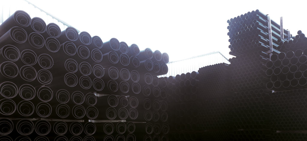 Naylor Specialist Plastics Black Ducting Pipes