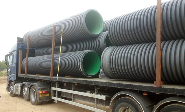 Metrodrain Pipes for Wildlife Pipes