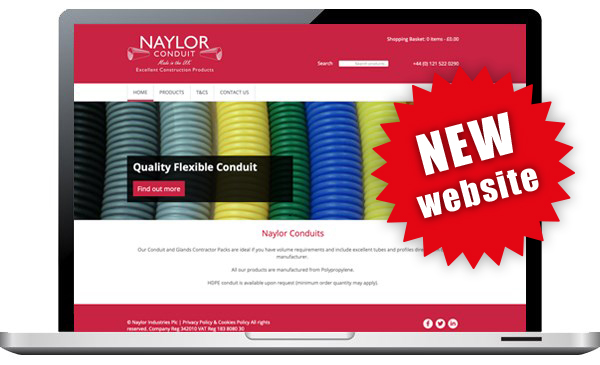 Naylor conduit New website