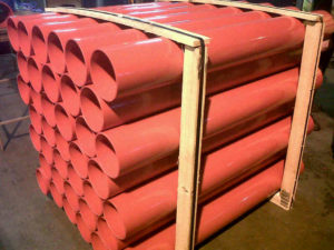Red ABS Core Tube