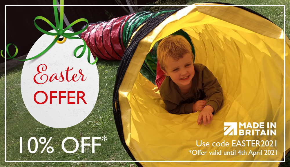 Easter Activity Tunnel offer