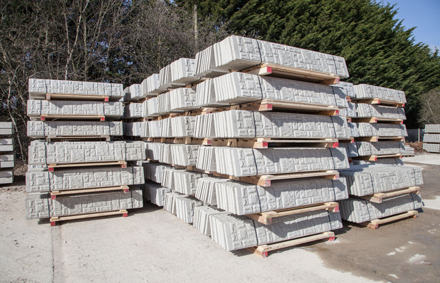 High quality concrete and steel fencing products