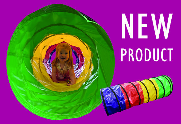 Naylor MultiColoured Activity Tunnel